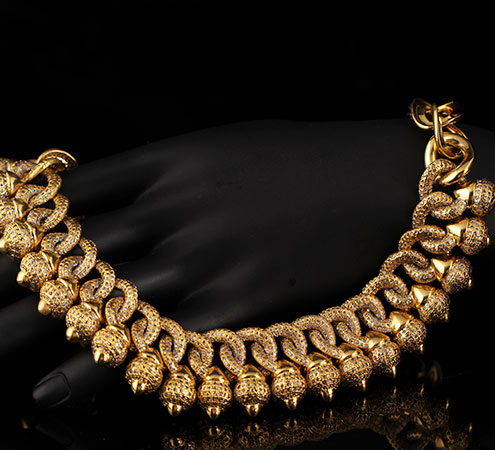 Gold Woven Necklace