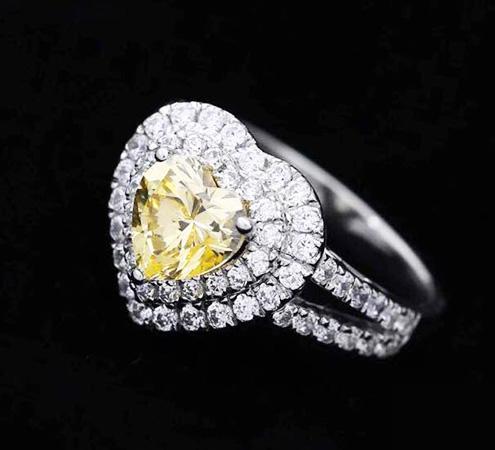 Heart Deamond Ring